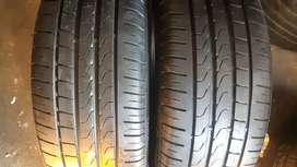 2x205/45/17 pirelli cinturato P7 at about 9mm