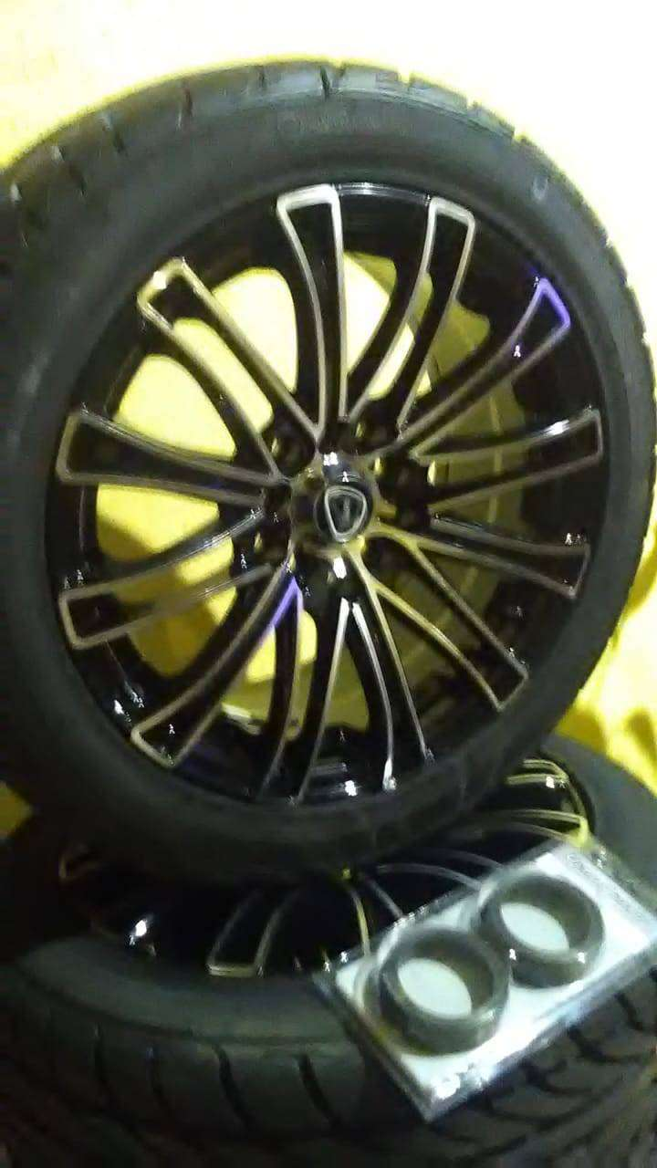 Brand new 15 inch mag rims never been used 0