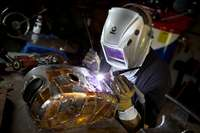 Image of Welding boilermaking training plant equipment machine job opportunity