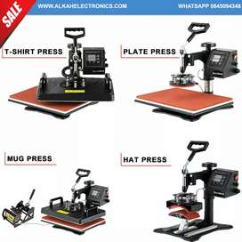 5 in 1 Combo Heat Press Machine with 375 mm VinI Paper Cutter Plotter