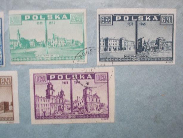 Koperta, tzw. R-ka, z wieloma cennymi znaczkami z 1945 i 1947 roku. Bydgoszcz - image 3