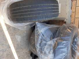 Tyres for vehicle
