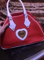 Очень красивая сумка moschino. Торг!!!
