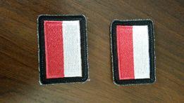 Emblemat /naszywka flaga PL - 2 szt.