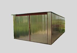 Garaż blaszany BLASZAK MAGAZYNEK SCHOWEK 4x5m. dostawa i montaż GRATIS