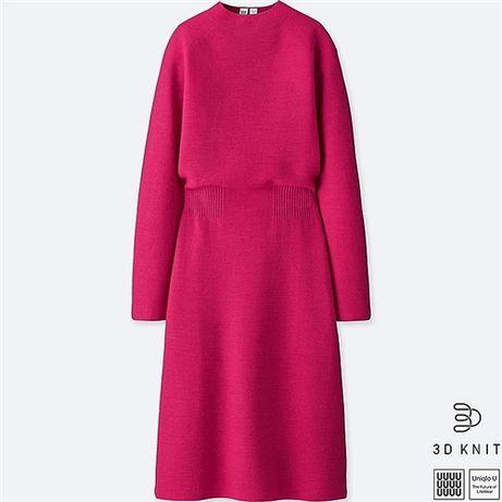 Платье Uniqlo шерсть Рубежное - изображение 1