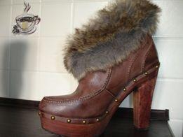 NOWE buty botki damskie VENEZIA ES rozmiar 41 kożuszek+wysyłka GRATIS!