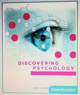 Textbook : Discovering Psychology