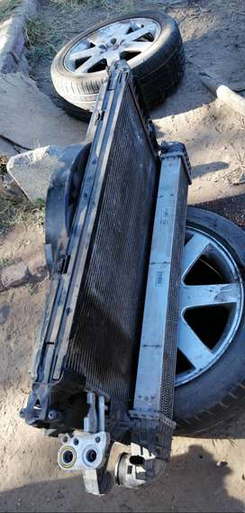 Volvo S40 T5 Radiator, Intercooler and fan for sale.