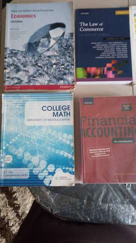 Bcom accounting/general textbooks for sale