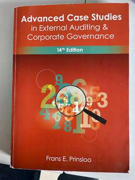 Advance case studies in external auditing 14th edition