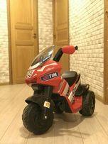 Классный электро мотоцикл Ducati! Peg Perego! Италия!
