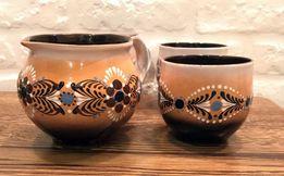 Чашка керамическая кружка чайная этно бохо набор