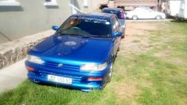 Toyota Tazz 1,3 1999 model for sale very good condition.