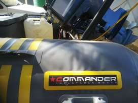 Commander rubber duck with 50hp yamaha