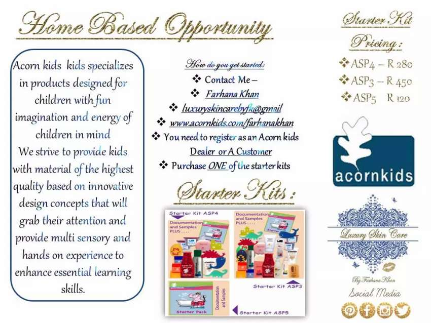 Home based opportunity 0