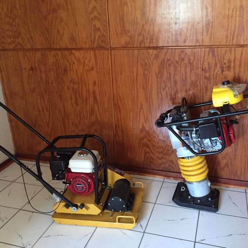 Plate compactor and wacker 0