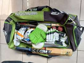 Cricket kit and equipment