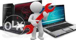 Обслуживание и ремонт компьютеров, ноутбуков...