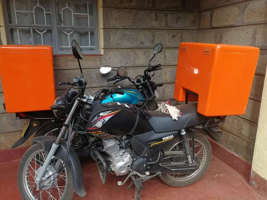 Motorbike rider job for a courier company 0