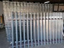 We Manufacturer and Supply palisades fence all sizes available