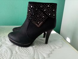 Przepiękne buty na obcasie