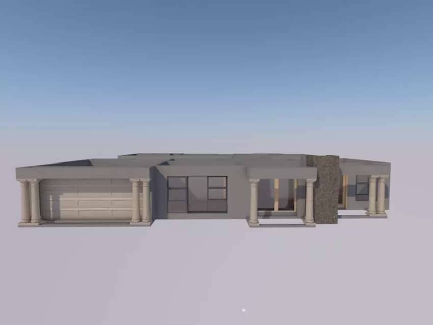 House plan for sale 3d 0