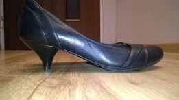 Skorzane pantofle