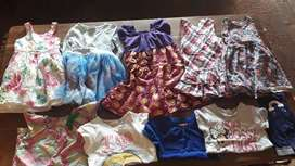 Girls 4yrs summer clothes (10 items)