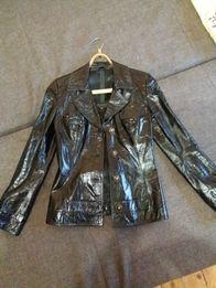 Шкіряна куртка/піджак xs/s