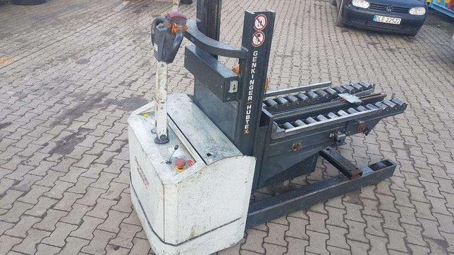 Paleciak wózek elektryczny HUBTEX 12r. wyciągarka Chojnów - image 3
