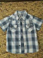 Крутая рубашка для мальчика 2-3 годика(рост98см)