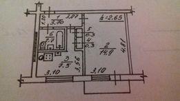 Продам 1-комнатную квартиру от СОБСТВЕННИКА.