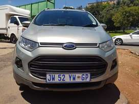 2016 Ford Ecosport 1.5 Tdi Titanium with leather seats