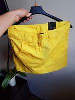 Żółta nowa spódnica