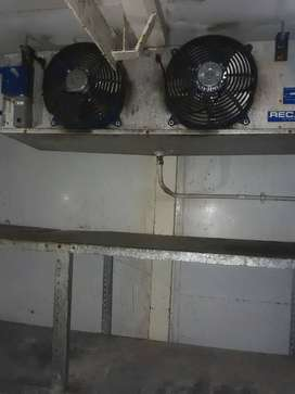 Cold room and freezer room