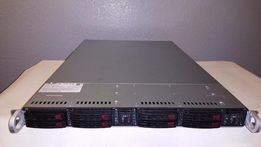 Supermicro SuperServer 1027TR-TF/ 2-Node/ 4* E5-2690/ 256Gb ECC
