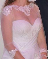 Bolerko ślubne/ koszulka pod suknię ślubną