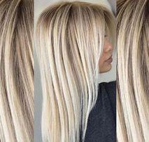 Окрашивание/покраска волос Блонд. Балаяж Шатуш Омбре Выход из черного