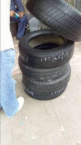 Tyres good used from R100 and we also do new tyres and rim repairs