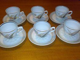 Кофейно-чайный малый сервиз (фарфор, Коростень)