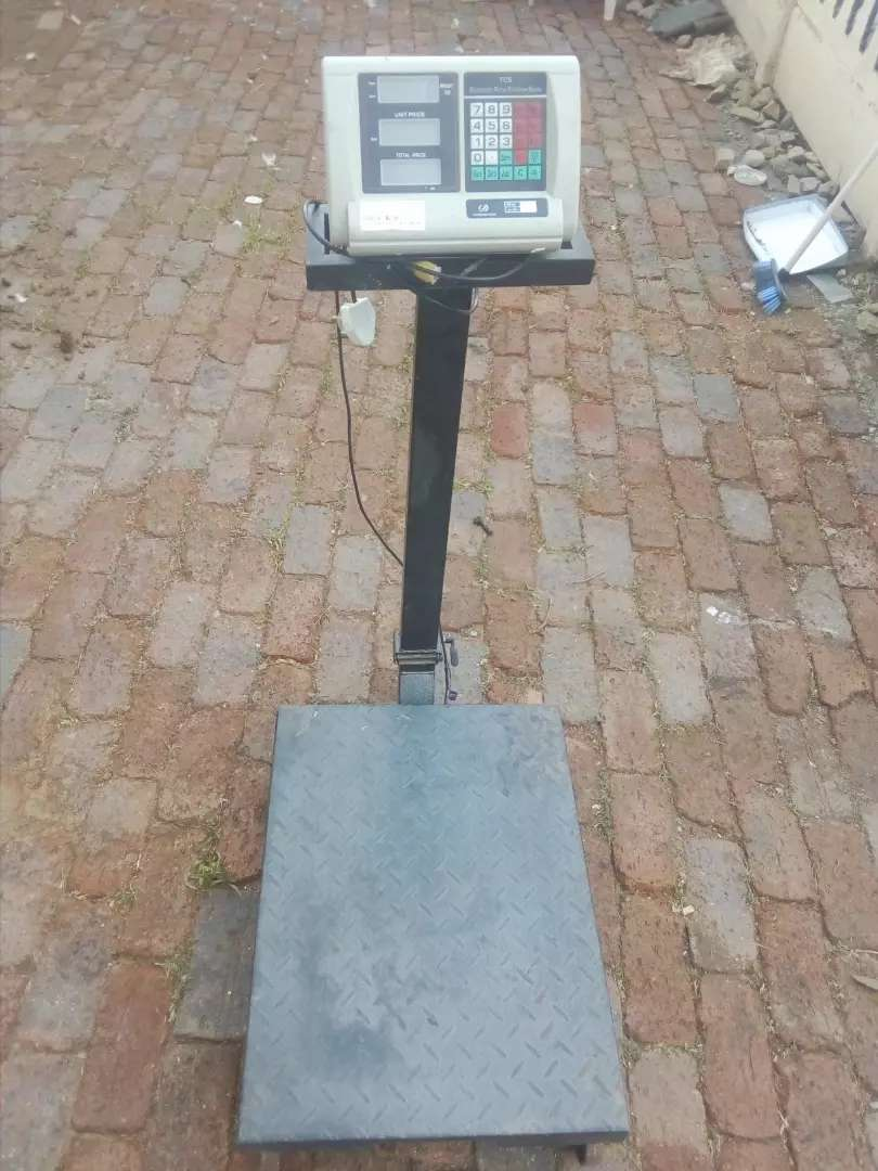 500 kg weight mobile scale 0