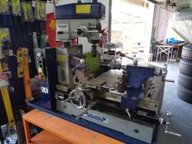 Mac Afric HQ400/3A Lathe drilling milling