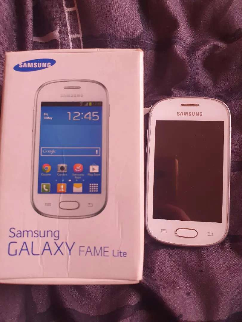 Samsung Galaxy fame lite smartphone used once, brand new for sale 0