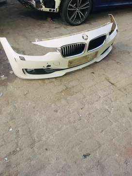 BMW F30 front bumper complete with all grills