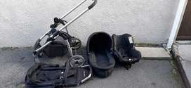 Double trouble 3 in1 pram system