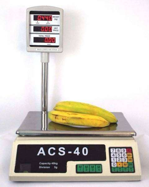 40KG Digital Price Computing Retail Weight Scale 0