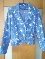 Пиджак женский джинсовый размер 44-46 хлопок 100% в отличном состоянии