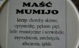 MUMIJO Oryginalna maść MUMIO z Zielarni OJCA SROKI