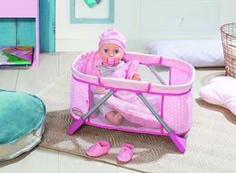 Кроватка переносная манеж для куклы Baby Борн Annabell Zapf 794982